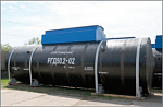 Horizontal steel double-walled tanks «RGD»